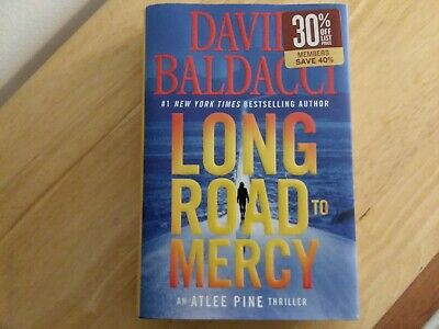 Long Road to Mercy by David Baldacci 2018 Hardcover Atlee Pine Book One
