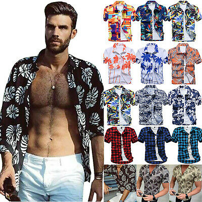 SUMMER HOLIDAY MEN Hawaiian Shirt Stag Beach Pants Hawaii