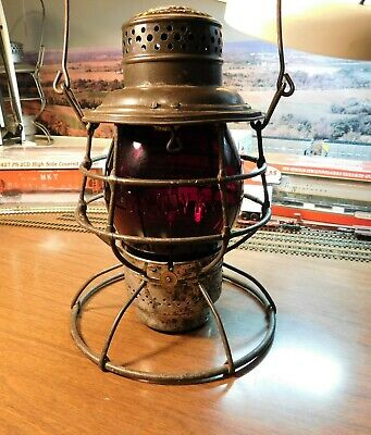 CHICAGO & NORTH WESTERN RAILWAY LANTERN THE ADAMS & WESTLAKE COMPANY C&NWRy 1895
