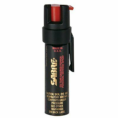SABRE P-22  3-IN-1 Pepper Spray Police Strength Compact Size .75oz