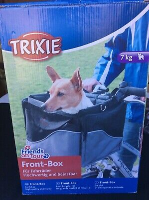 Trixie Cycle Bike Front Carry Box Small Dog 7kg Unused