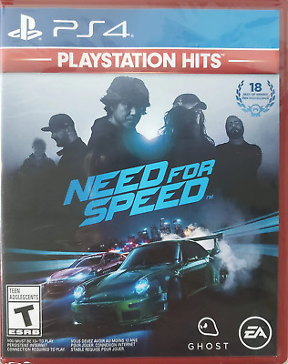 Need for Speed - Playstation Hits PS4 (Sony PlayStation 4, 2015) Brand New