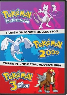 Warner Home Video D726642D Pokemon Movies 1-3 Collection (Dvd/First Movie/200...