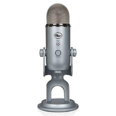 Blue Microphones Yeti USB Microphone, Silver Microphone For Professional Usb