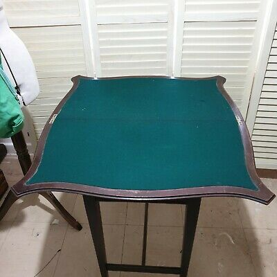 Antique Card Table .