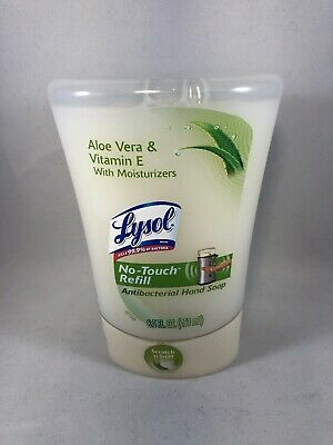 Lysol No Touch Hand Aloe Vera Antibacterial No Touch Hand Soap Refill 8.5 fl oz