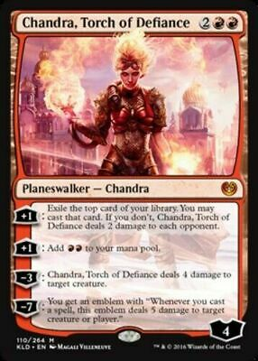 Chandra, Torch of Defiance - Kaladesh KLD - MTG Magic the Gathering - NM