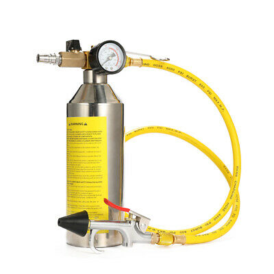 Vehicle Air Conditioning Pipe Cleaning Bottle Flush Canister Maintenance I8M7