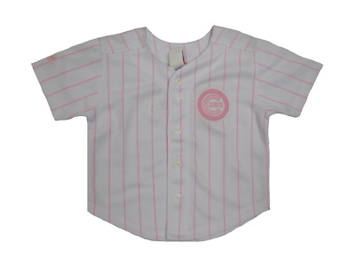 buy online 97e3a fc334 MAJESTIC CHICAGO CUBS Toddler Pink Girls Jersey
