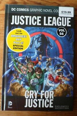 dc comics graphic novel collection VOL 56 JUSTICE LEAGUE CRY FOR JUSTICE