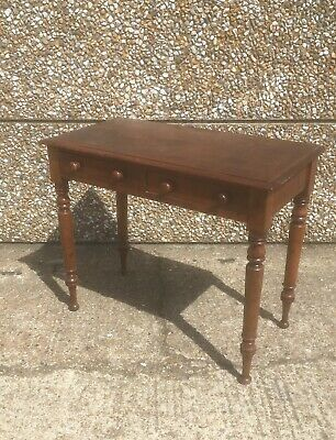Antique Mid Victorian Mahogany console / hall/side table In Excellent Condition