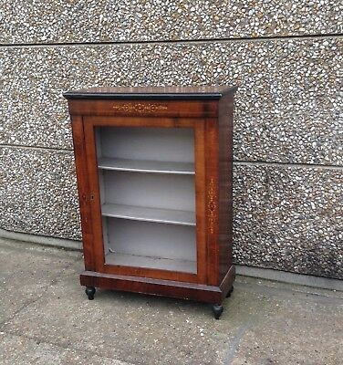 A Fine Quality Antique 19th Century Walnut Pier Cabinet In Good Condition
