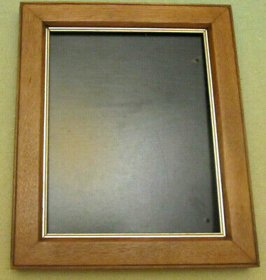 Antique Oak Picture Frame with slip for picture size  10in X 8in
