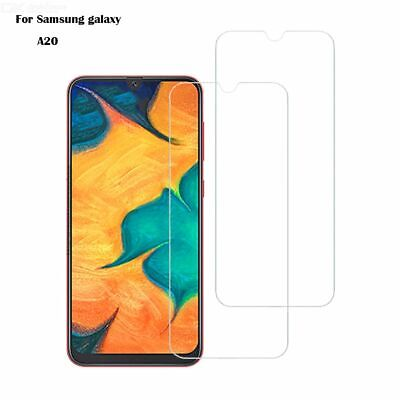 (2 Packs) Tempered Glass Screen Protector for Samsung Galaxy A20 & M20