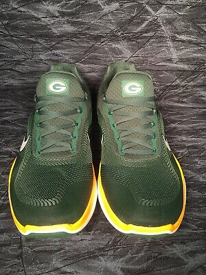 7de9cb2bae16c Nike Green Bay Packers Free Trainer V7 Ltd Edition Shoes AA1948-301 Size 10