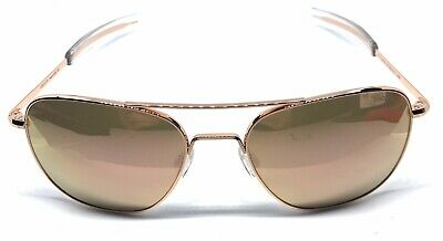 c20a7be99c29 Randolph Engineering Sunglasses Aviator Rose Gold,58mm Rose Gold  Mirror,Bayonet