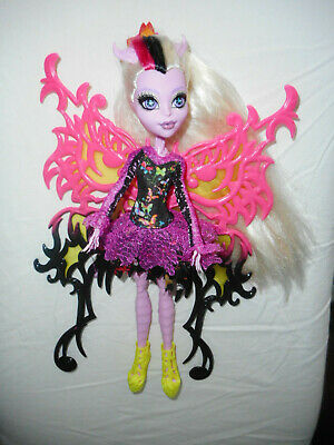 Monster High Freaky Fusion Bonita Femur Doll. original outfit & Shoes.