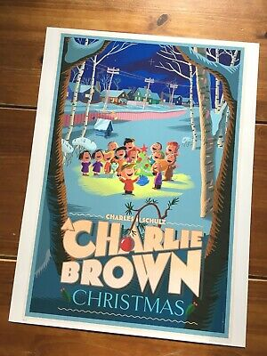 """A Charlie Brown Christmas""  Artist-Laurent Durieux (Variant) Edn Print!!  $395"