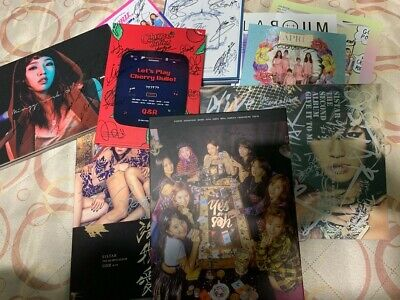 KPOP GIRL GROUP IDOL ALL MEMBER Autographed(Signed) PROMO ALBUM KPOP signature