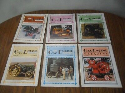The Gas Engine Magazine 1984 Full Year 6 Issues