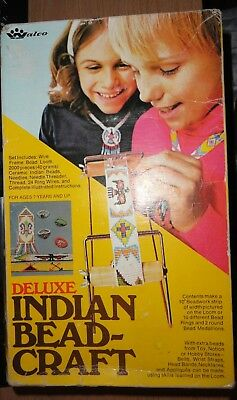 Walco DELUXE INDIAN BEAD-CRAFT LOOM-BEAD KIT - No. 3111 1974
