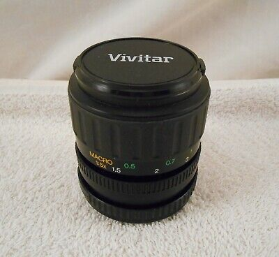 Vivitar 35-70 mm 1:3.5-4.8 MC Macro Focusing Zoom Lens ( New take off )