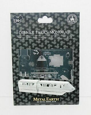 Disney Parks Metal Earth 3D Model Kit Monorail NEW