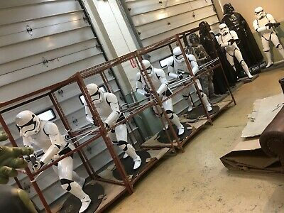 Life Size Star Wars The Force Awakens First Order Stormtrooper Full Size Statue