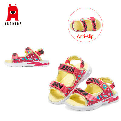 ABC KIDS Baby Girls Soft Soled Cartoon Print Sandals Casual Anti-slip Shoes 4-6T