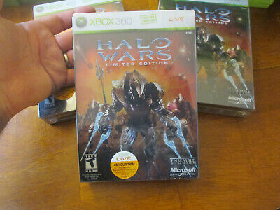 Halo Wars -- Limited Edition XBOX 360 BRAND NEW FACTORY SEALED