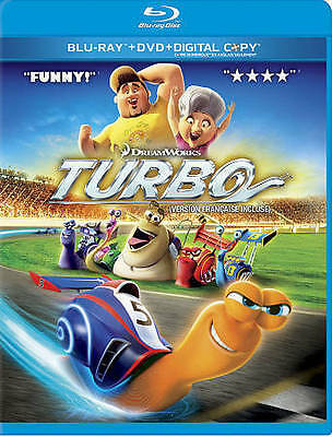 Turbo (Blu-ray, 2013, Canadian) - DISC ONLY