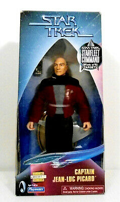Star Trek Starfleet Command Captain Jean Luc Picard Figure Target Only MINT BOX
