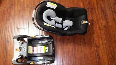 Chicco KeyFit 30 ReclineSure Rear Facing Infant Car Seat and Base, Black Atmos