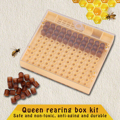 Cell Cups Queen Rearing Box Cupkit Complete Bee Rearing Beekeeping Case Plastic