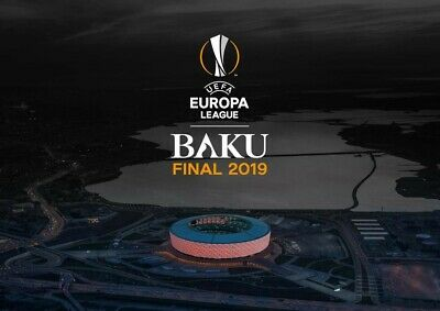 4 TOP Tickets Europa League Final 2019 Chelsea - Arsenal Block 305 Great View!