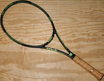 Wilson Pro Stock Blade 98 XL Paintjob 4 3/8 18x20 Tennis Racket New