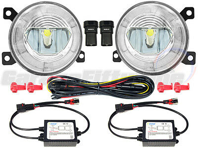 Volkswagen LED DRL Front Fog Light Kit Amarok Golf GTI Scirocco UP Jetta Citigo