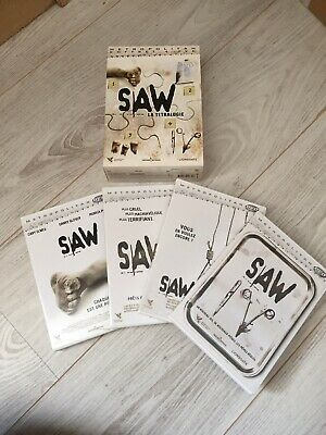 Coffret 4 dvd SAW 1-2-3-4