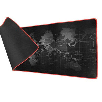 Hot Sale Large Anti-Slip Smooth World Map Mouse Pad Mat Gaming Mat For Laptop PC
