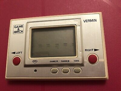 Nintendo Game&Watch Vermin