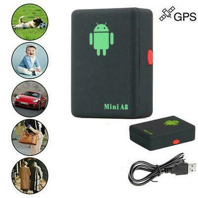 Mini A8 GPS Tracker Locator Car Kids Global Tracking Device Anti-theft Outd T5E5