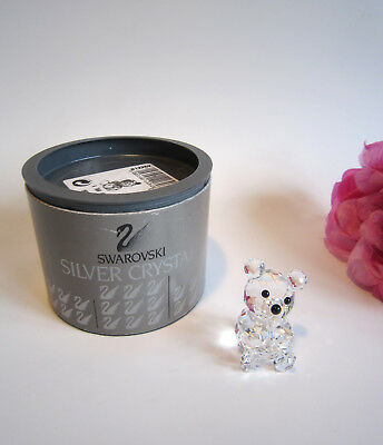 Swarovski crystal collectable mini bear 012262. Cute. Retired. Boxed.