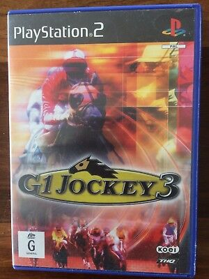 Playstation 2 G1 Jockey 3 Game Combine Post And Save
