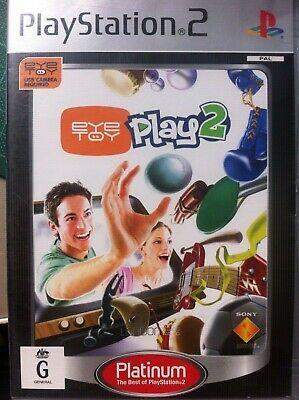 PS2 EYE TOY 2 GAME Combine and save on postage