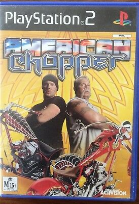 Play Station 2 American Chopper Game Combine Post And Save