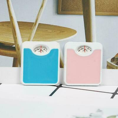Dollhouse Bathroom Weighing Scale 1:12 Miniature Weight Balance Home Decor Sale