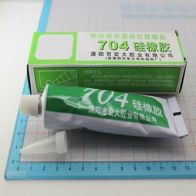 704 High Temperature Clear Silicone Rubber Sealant Adhesive Glue Glass Metal Hot