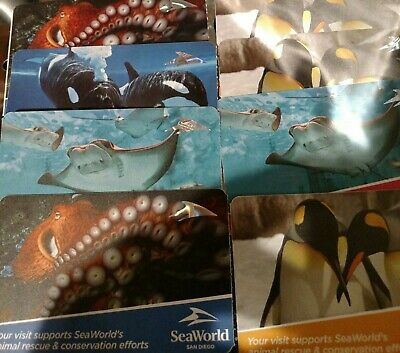 """SeaWorld San Diego Fun Card ***UNLIMITED VISITS FOR 2019"""""""""""""""