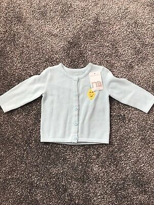 Mothercare baby girls cardigan size 0-3 months