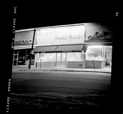 Antique Negatives Brigham's Dorothy Murial's Bakery in the 1940's